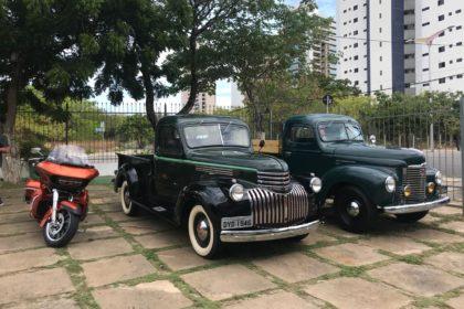Encontro mensal do museu do automóvel do Ceará